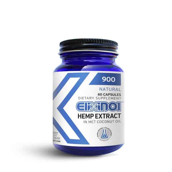 Elixinol CBD Capsules ($24.99 to $64.99)