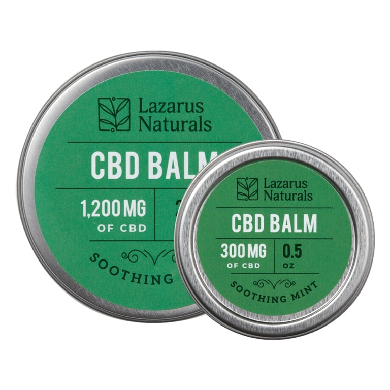 Lazarus Naturals Soothing Mint Full-Spectrum CBD Balm