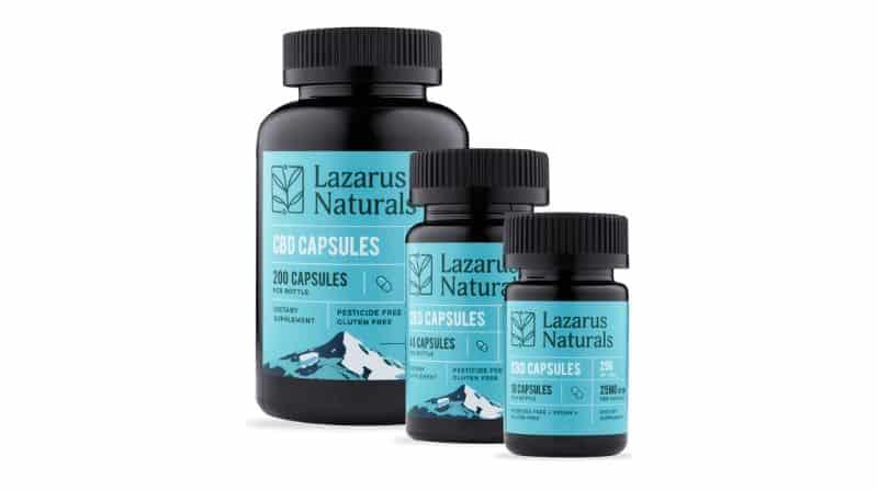 Lazarus Naturals CBD Review