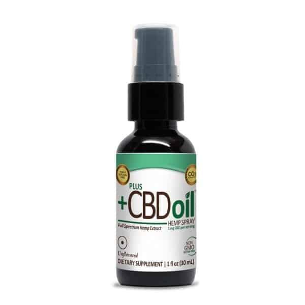 PlusCBD Oil Spray