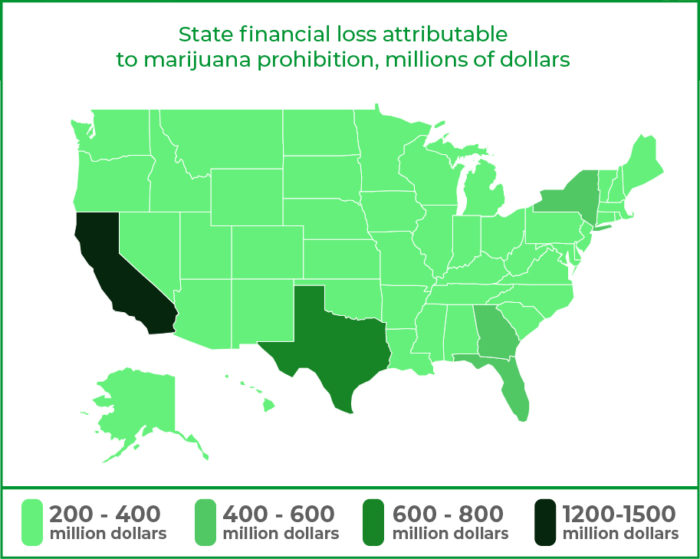 how the us is losing 53 billion dollars a year for not legalizing marijuana