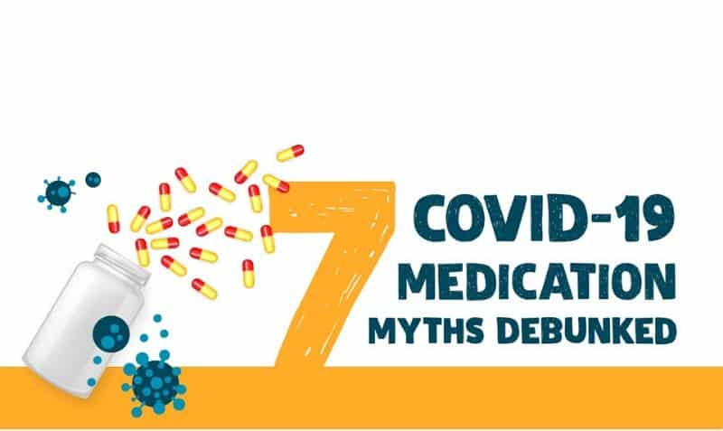 7 COVID-19 Medication Myths Debunked (You should NEVER do #2)