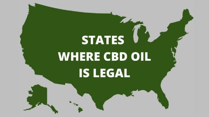 What states is CBD oil legal (2020 Updated)