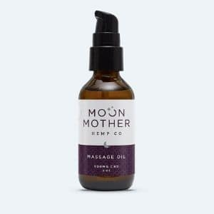 Moon Mother Hemp Company Massage Oil