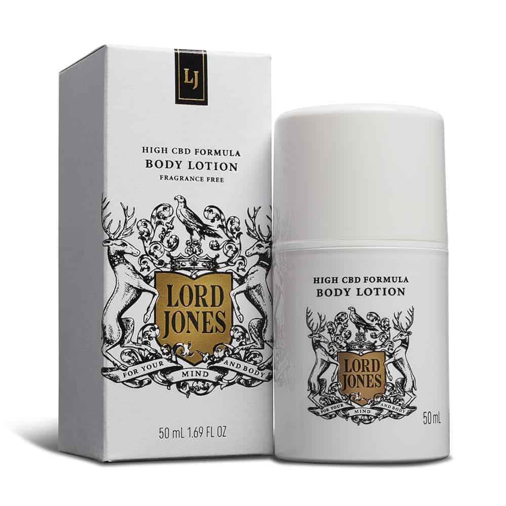 Body Cream: Lord Jones High CBD Pain & Wellness Body Cream