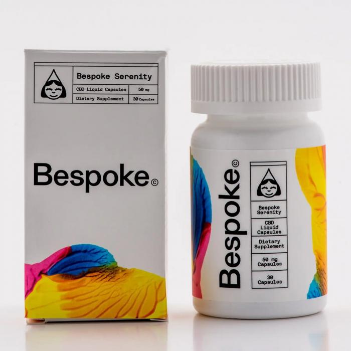 Bespoke Extracts serenity cbd capsules 1500mg