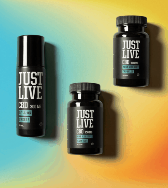 Just Live CBD Products