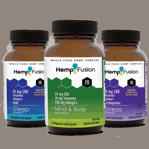 Hempfusion CBD capsules