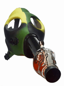 BadassGlass Gas Mask Bong
