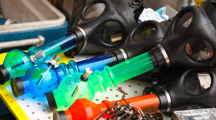 Top 10 Gas Mask Bongs For Getting Really, Really High